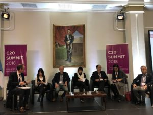C20 Summit discussion