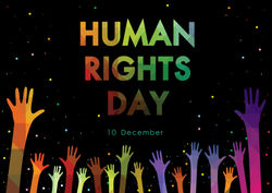 stock-vector-human-rights-day-with-hand-splash-colour-vector-illustration-1250558275
